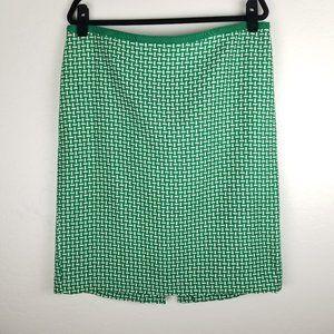 Talbots Woven Knee Length Pencil Skirt